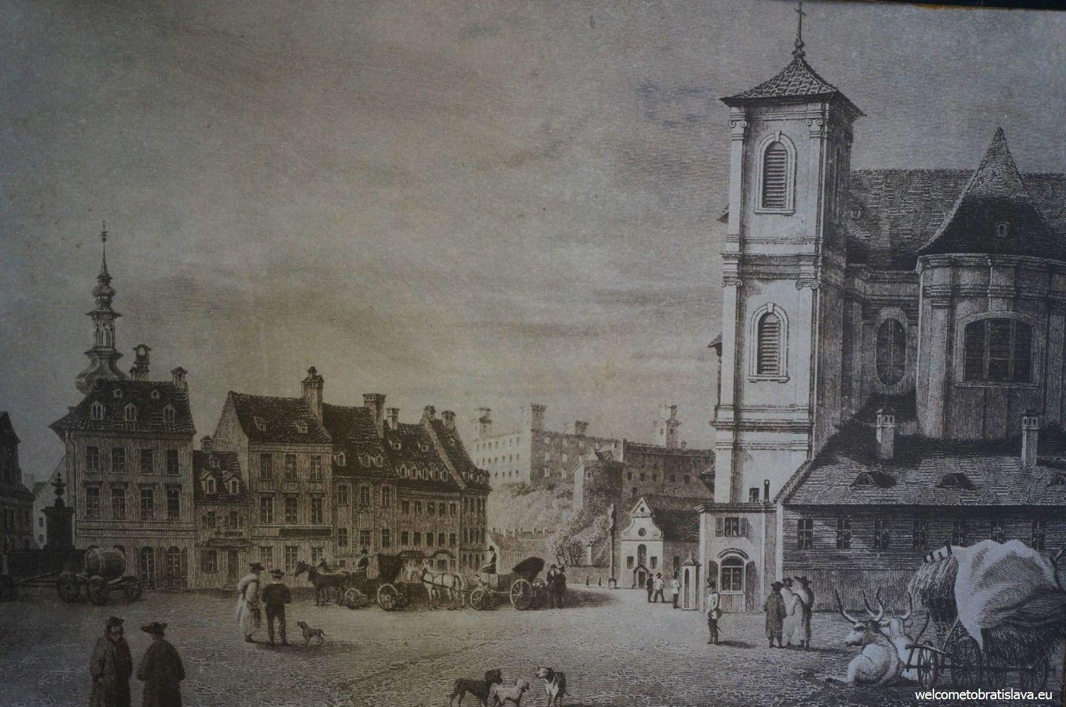 Historical Bratislava