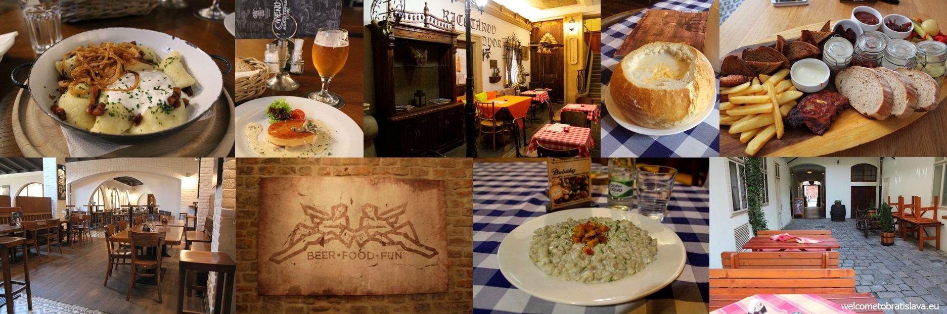Slovak pubs in Bratislava