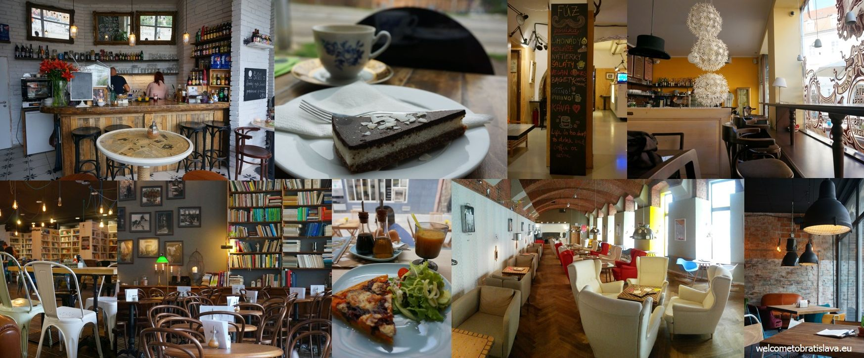 The hipster cafes in Bratislava