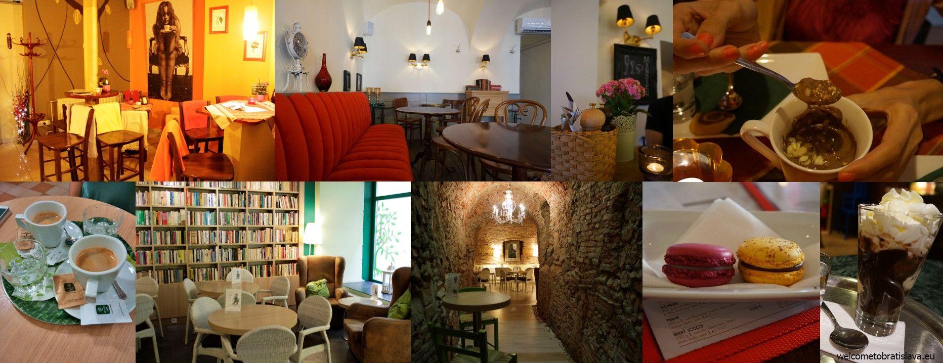The classic cafes in Bratislava