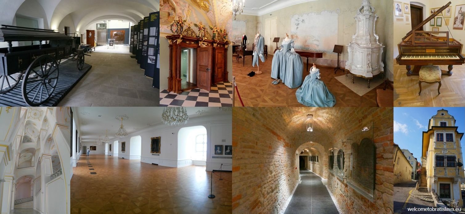 Sightseeing in Bratislava: museums