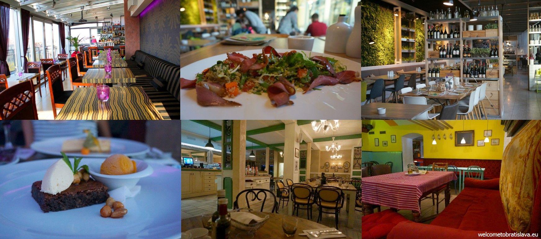 Restaurants of Bratislava