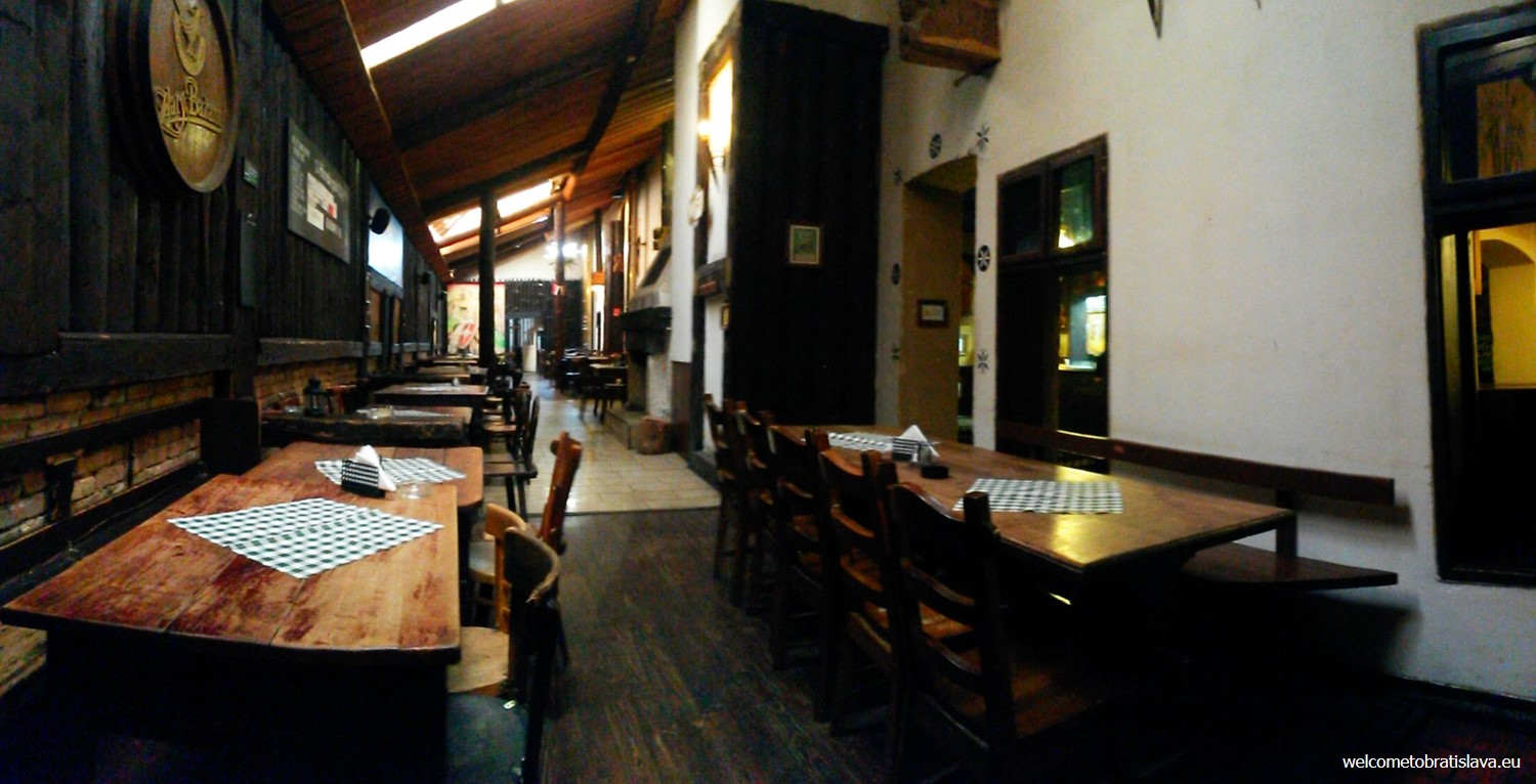 Slovak pub: the back room