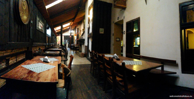 Slovak pub: the back room