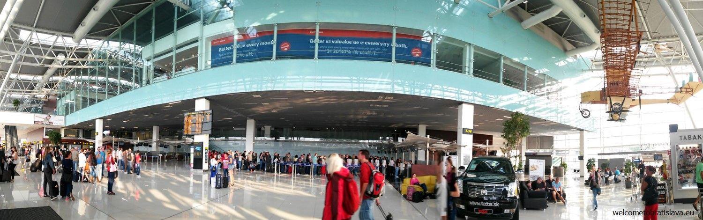 Bratislava Airport: Interior