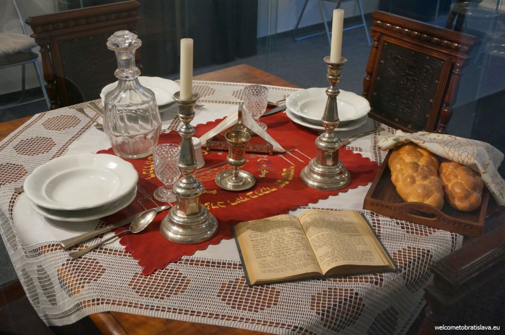 Example of a laid table