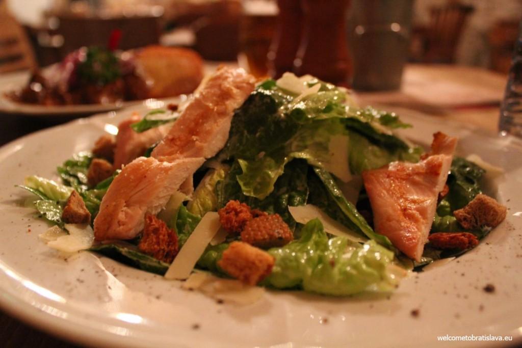 Beer Palace: Caesar salad