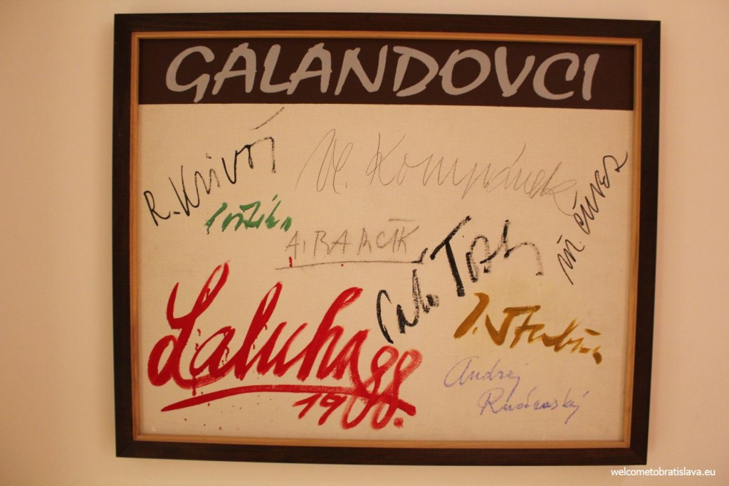 Signatures of the Galand group