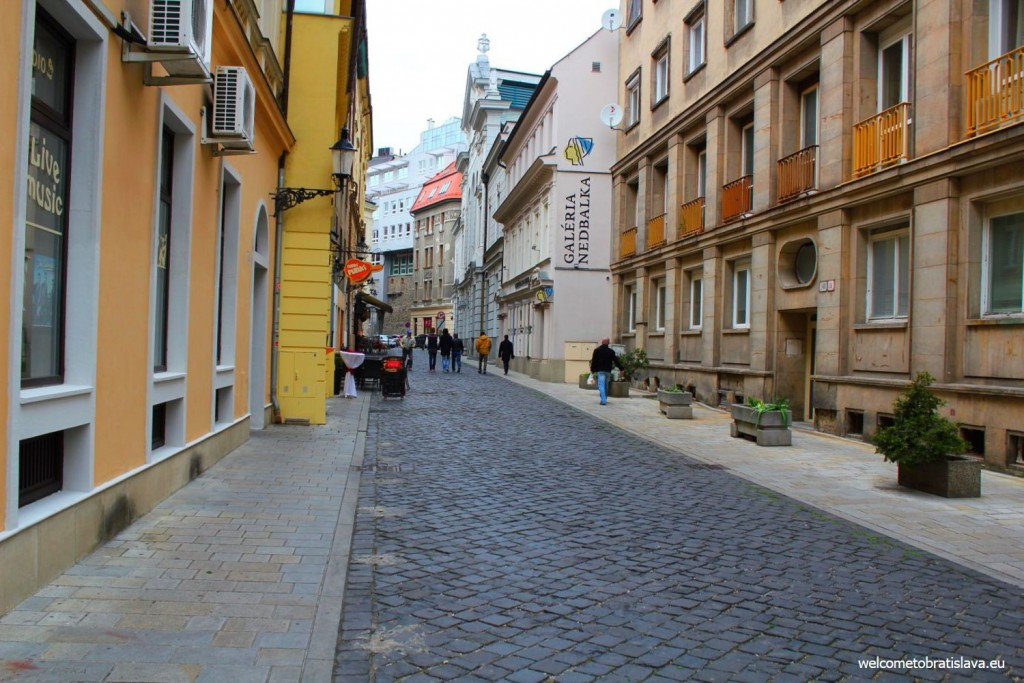Nedbalka Gallery is situated in the city center at Nedbalova street 17