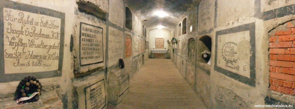 St. Martin's Cathedral: The crypt