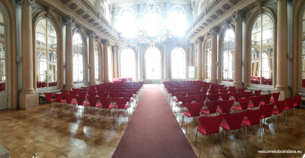 The beautiful Hall of Mirrors
