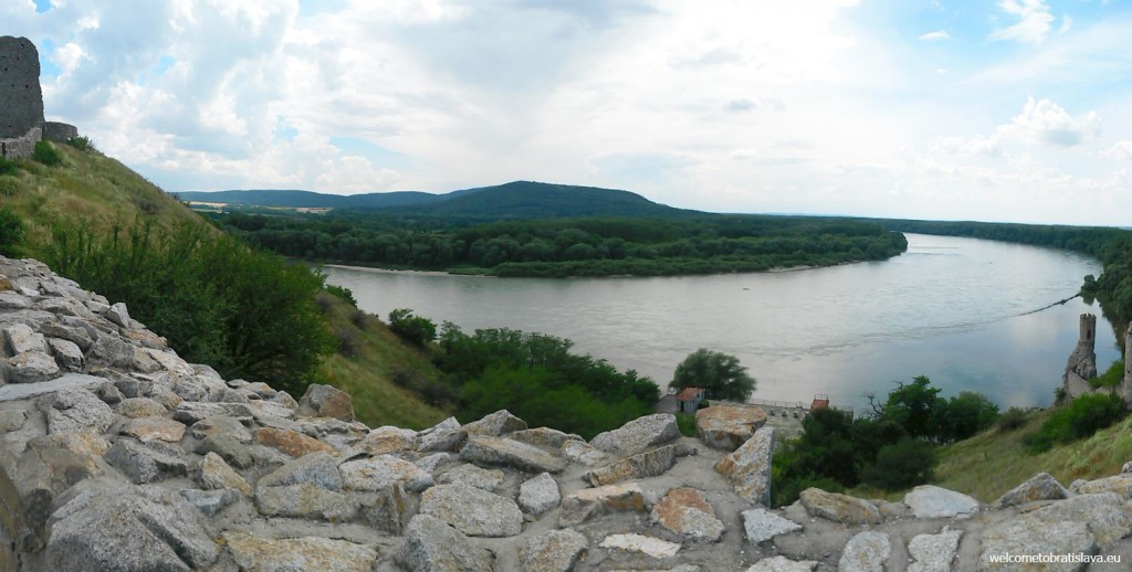 Devin: the view on the Danube