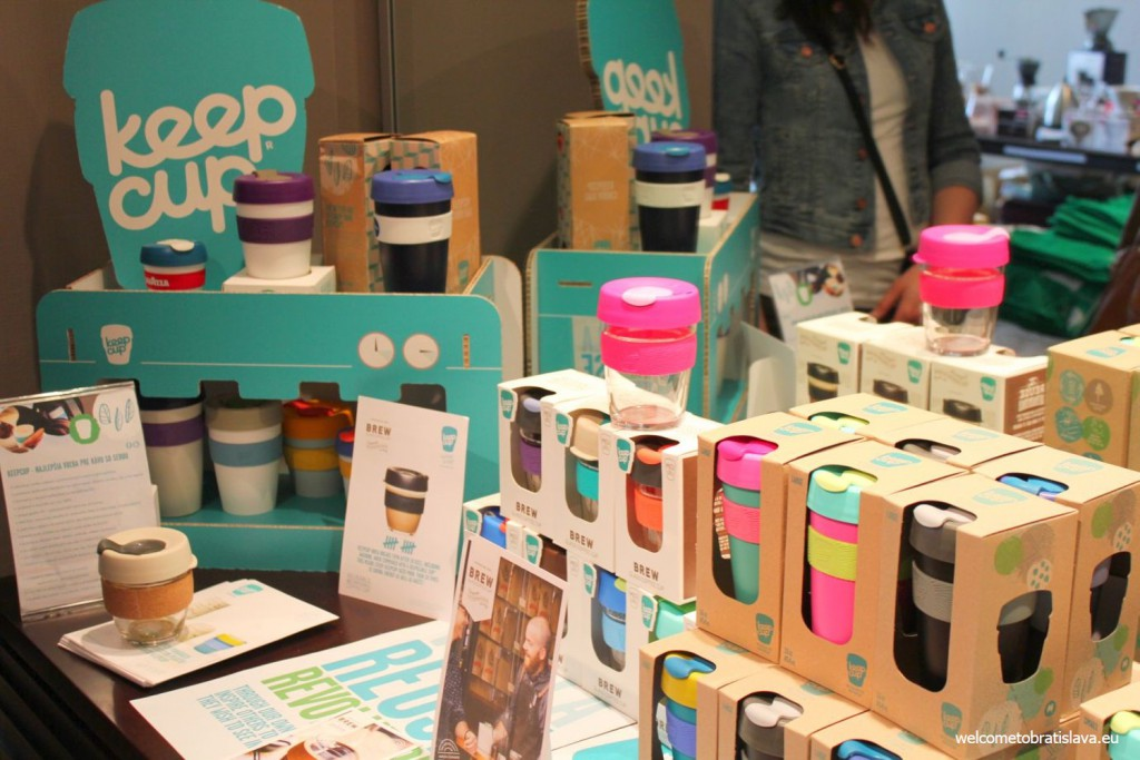 Colourful keep cups