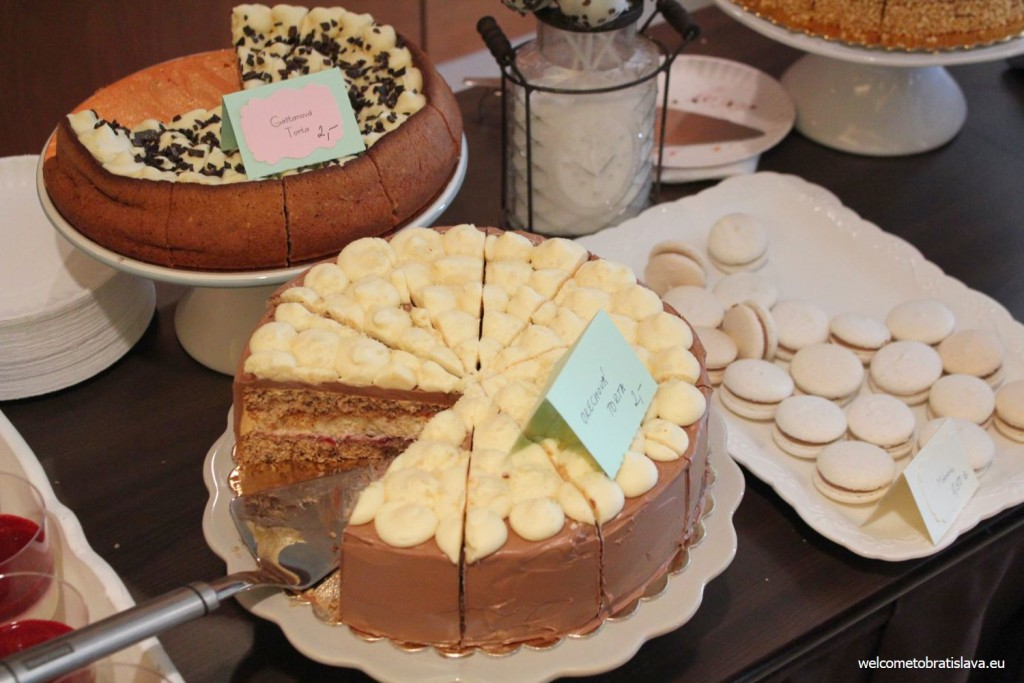 Delicious cakes, Coffee Fest Slovakia