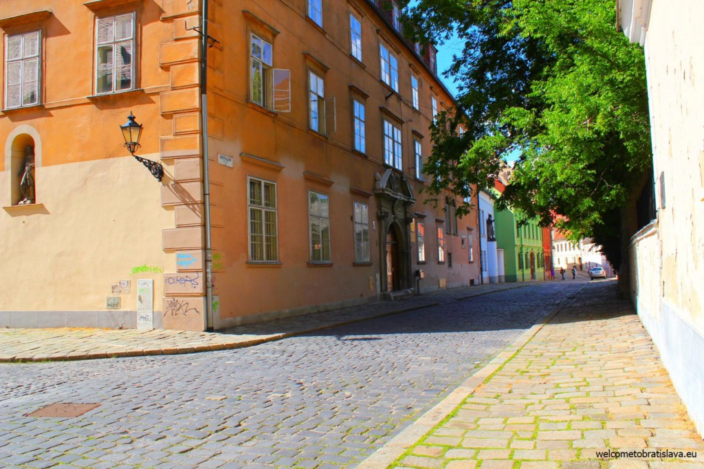 Take the Kapitulska street to get to the St. Martin's Cathedral