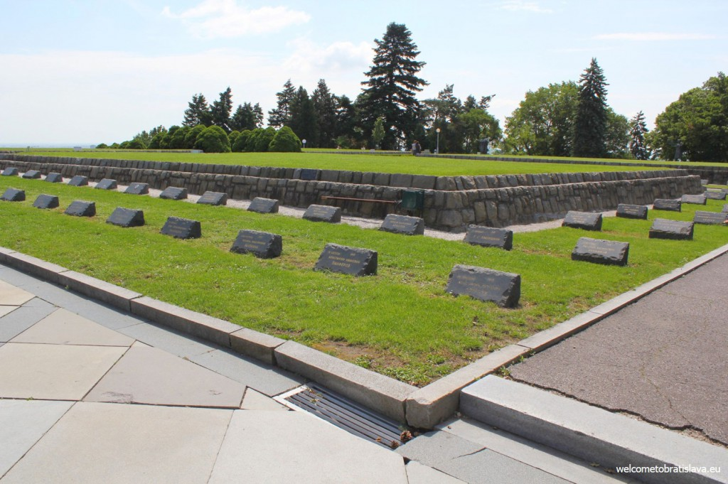 Slavin and its graves