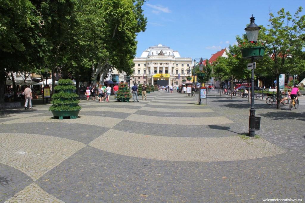 Hviezdoslav's square
