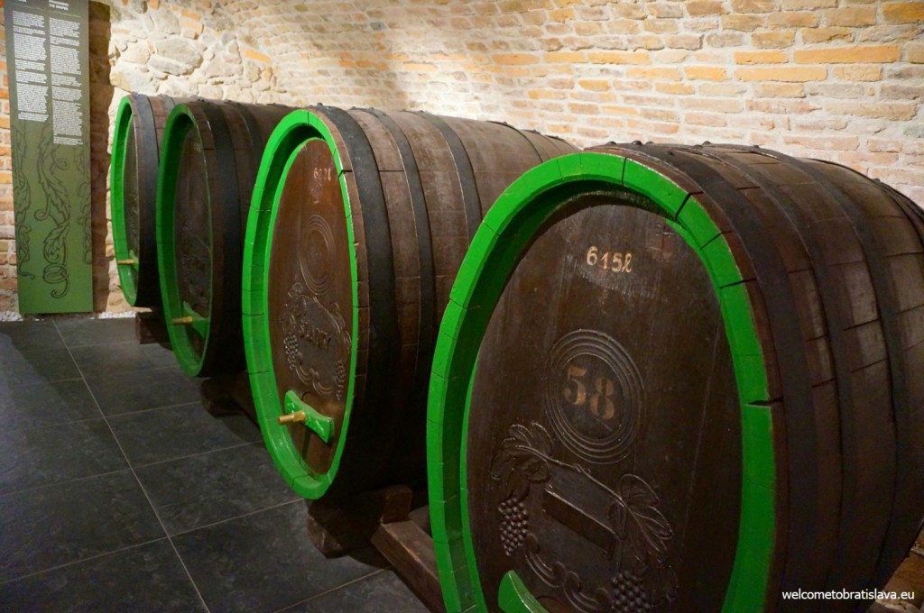 Museum of Viticulture: the basement