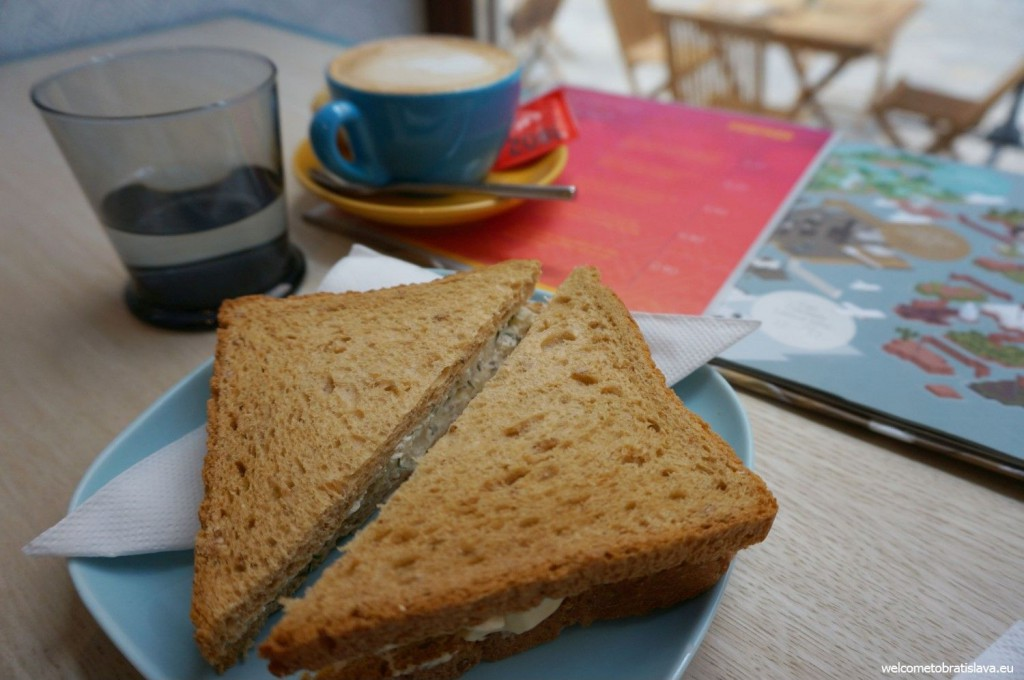 Foxford offers many kinds of small sandwiches