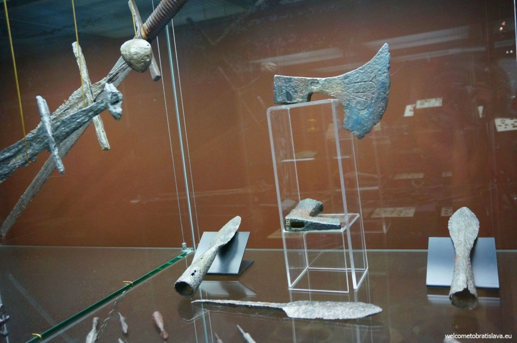 Weapons of medieval warriors