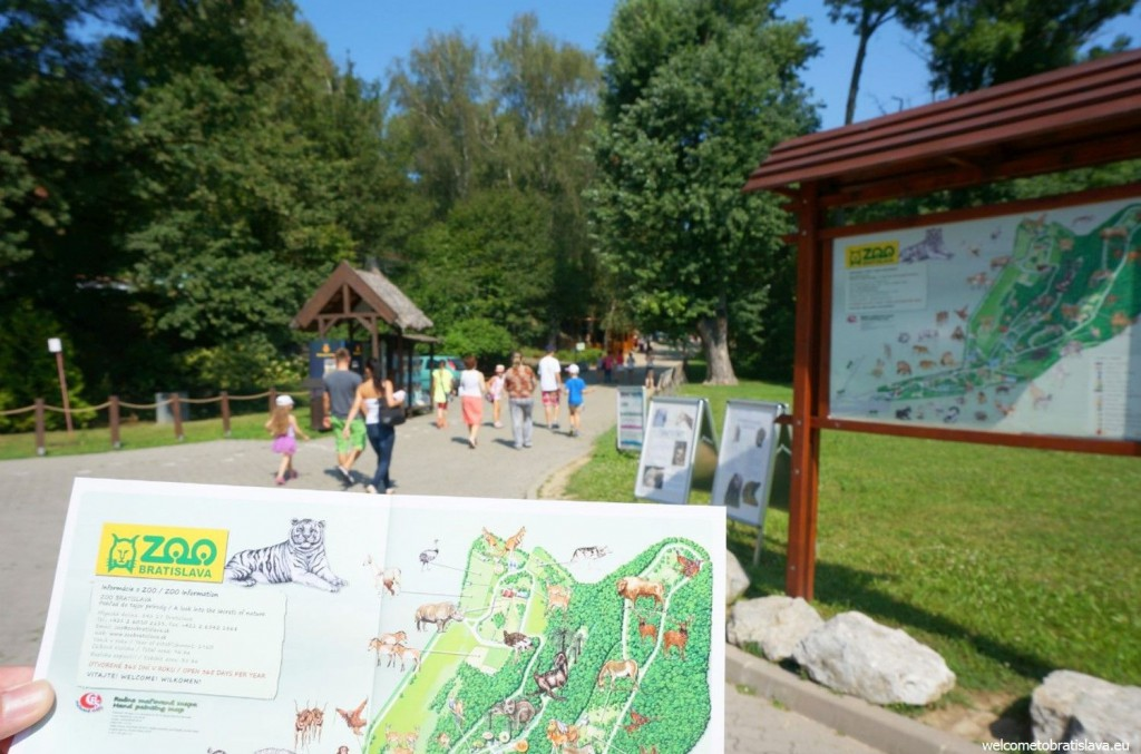Get a free map of the ZOO after you enter - it will make your life easier