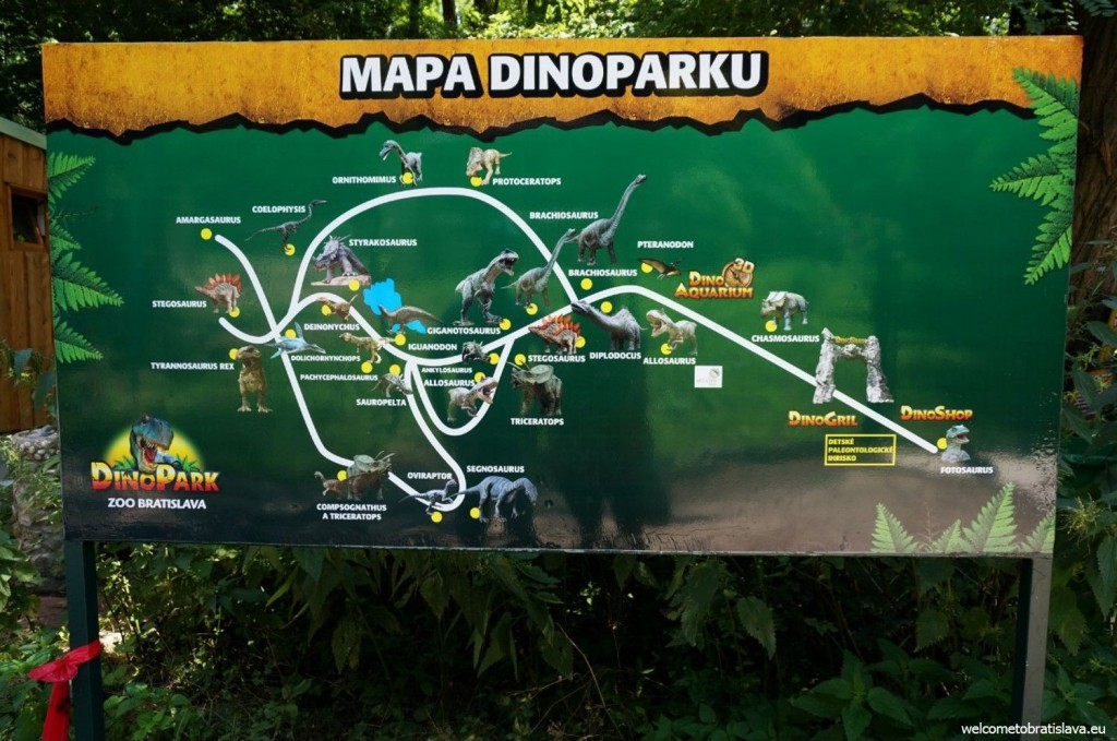 One of the main highlights of this ZOO is the DinoPark