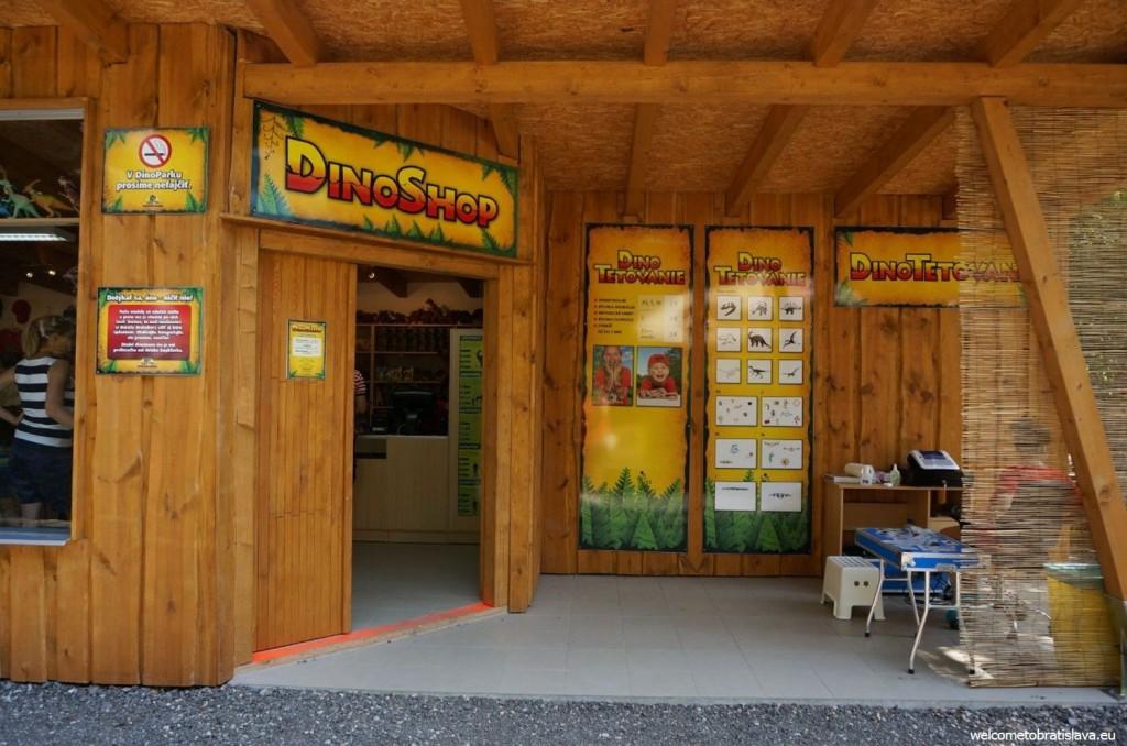 The DinoShop