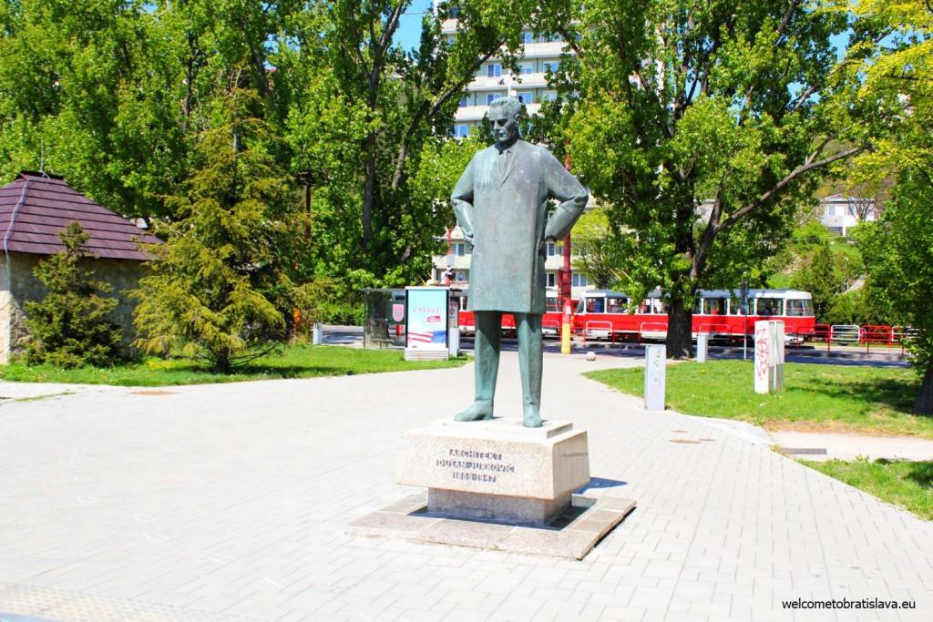 Walking along the Danube bank