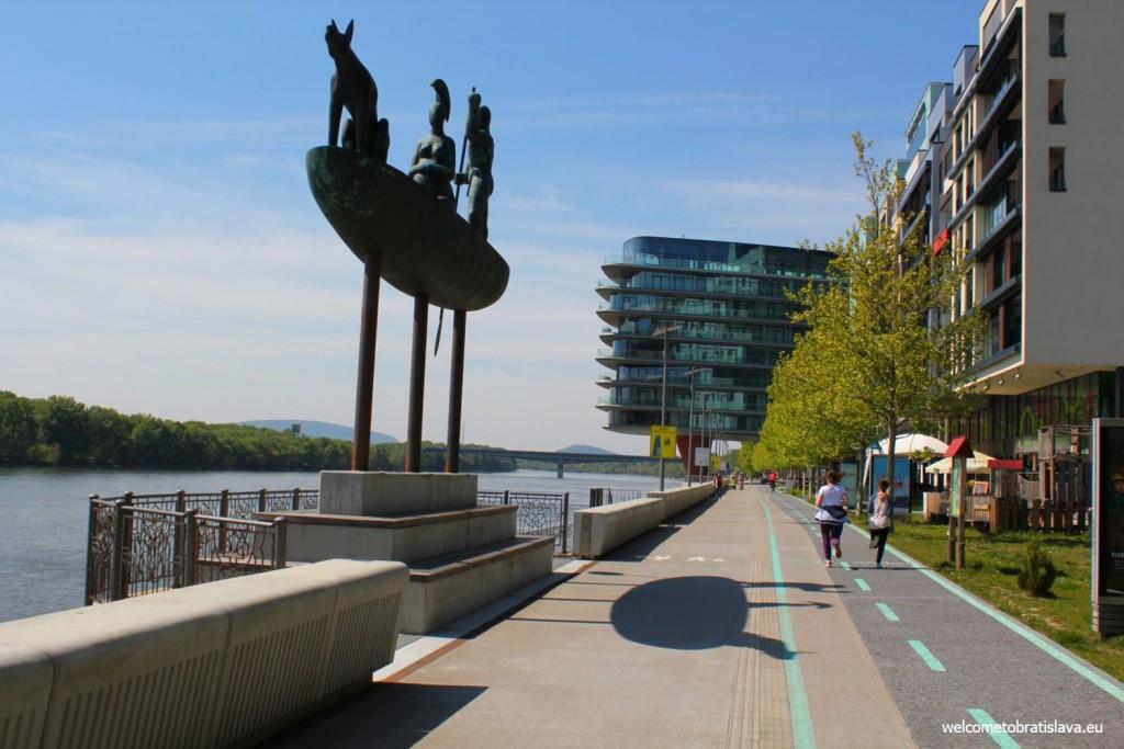 Danube bank: River Park complex