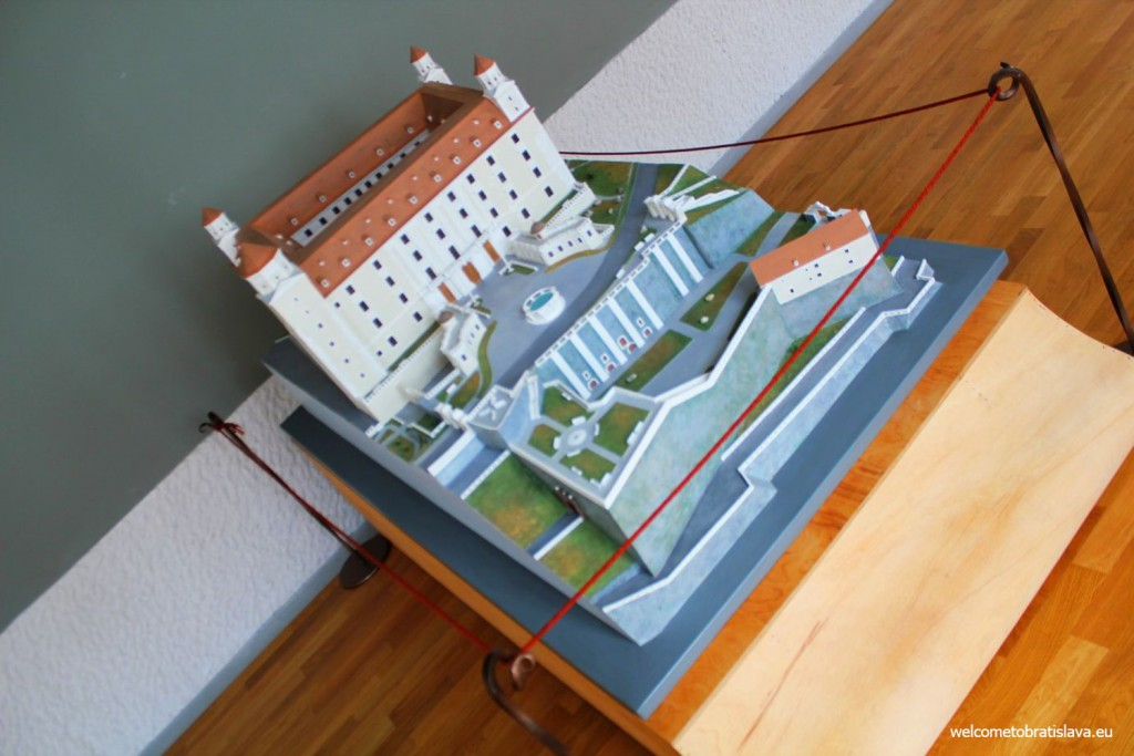Bratislava Castle on the Prints