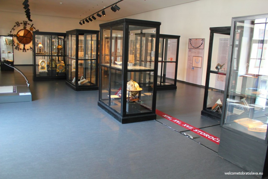 "The ""How the time was measured"" exhibiton"