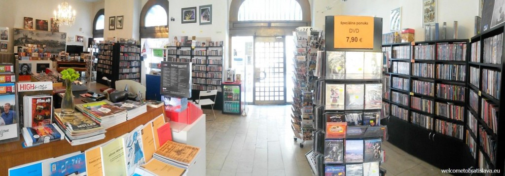 A small music shop which you will need to pass to get to the museum