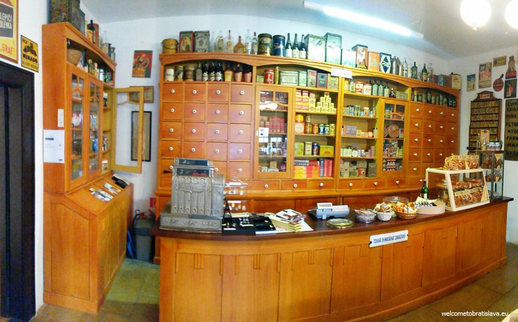 The oldest souvenir shop of Bratislava