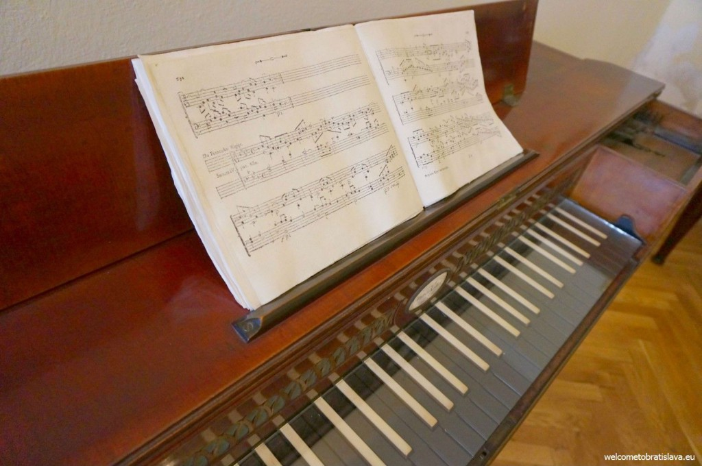 Johann's piano