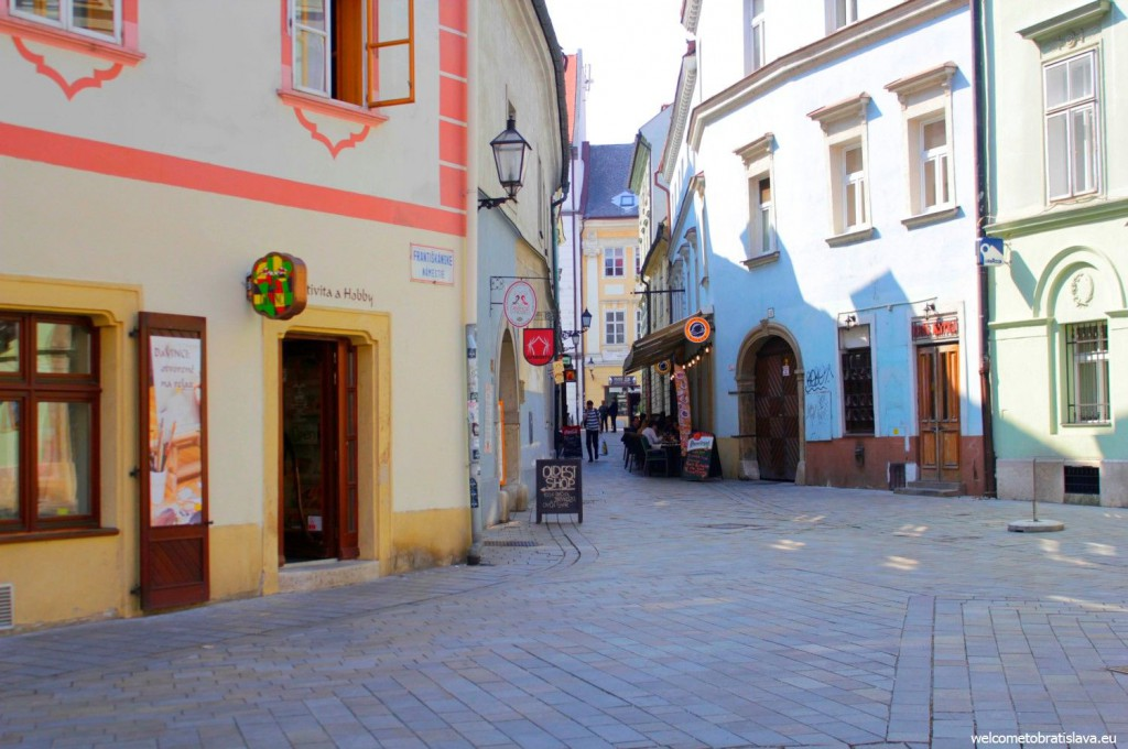 The small museum is located in the heart of the Old Town