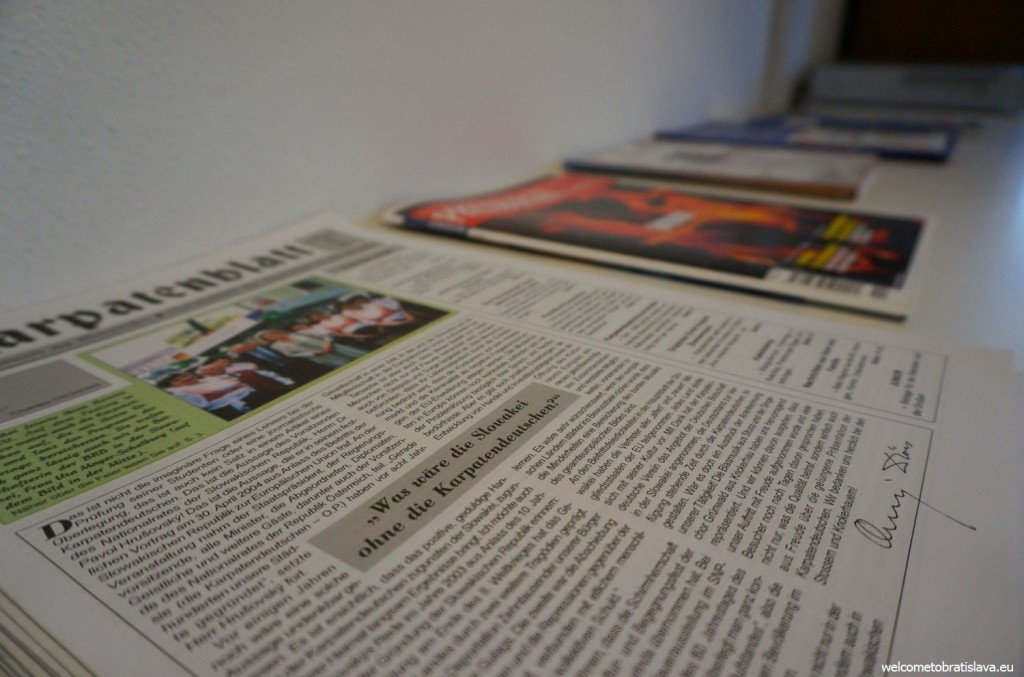 German newspapers are also available to read