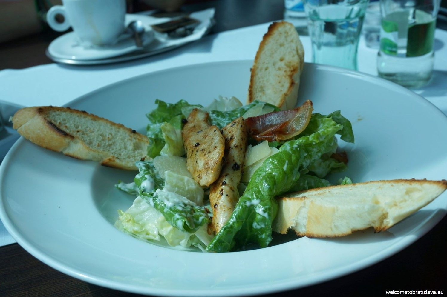 Dining at the Brasseria