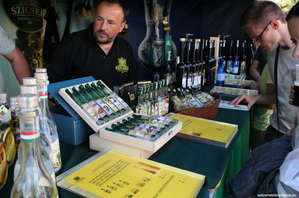 Slovak Food Festival: Slovak spirits to taste