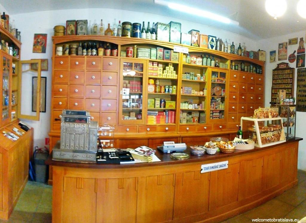 Bratislava's oldest shop