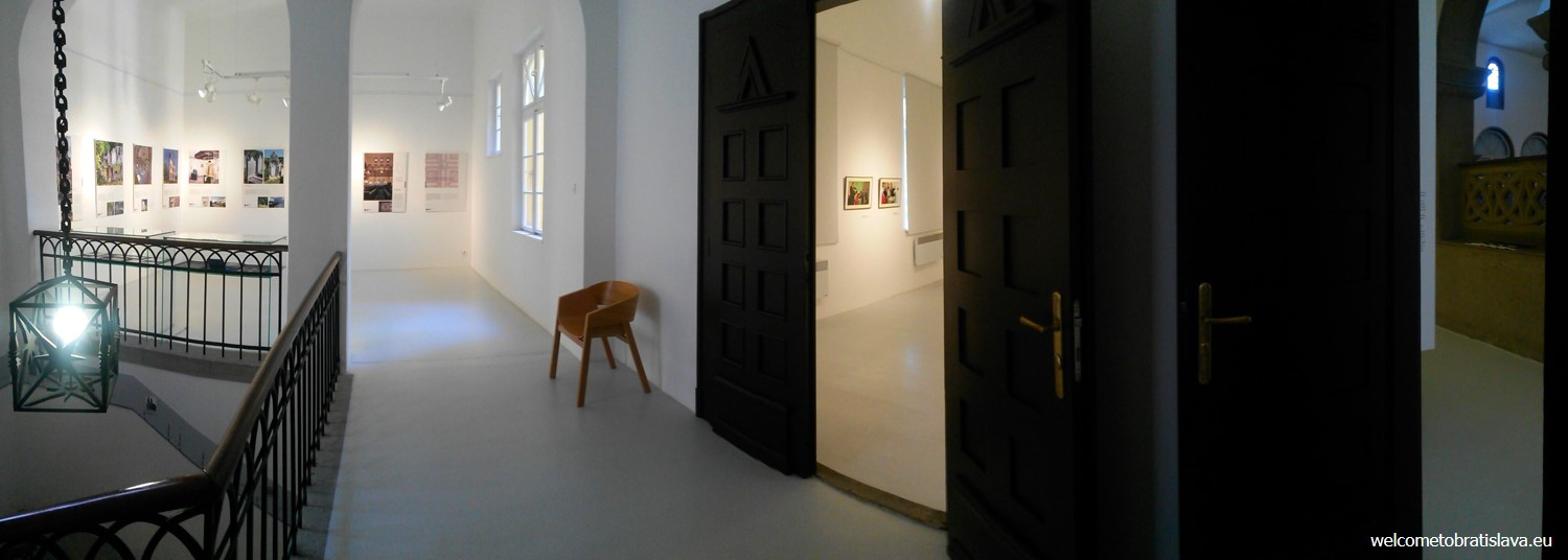 The Jewish Community Museum is installed upstairs
