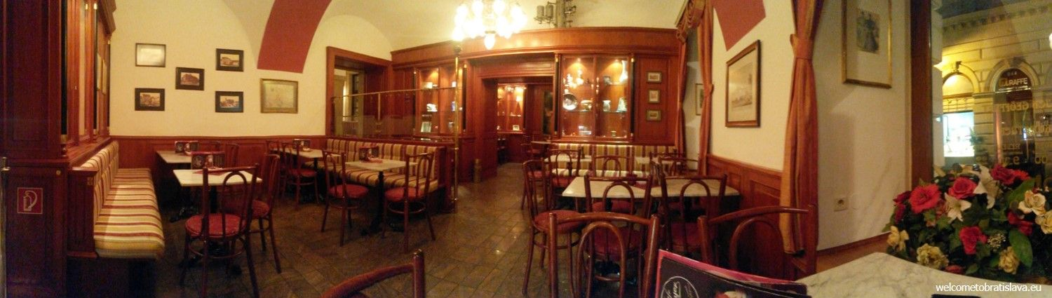Currently, after some renovations, the cafe still keeps its period style which is mirrored in the furniture and interior design as well
