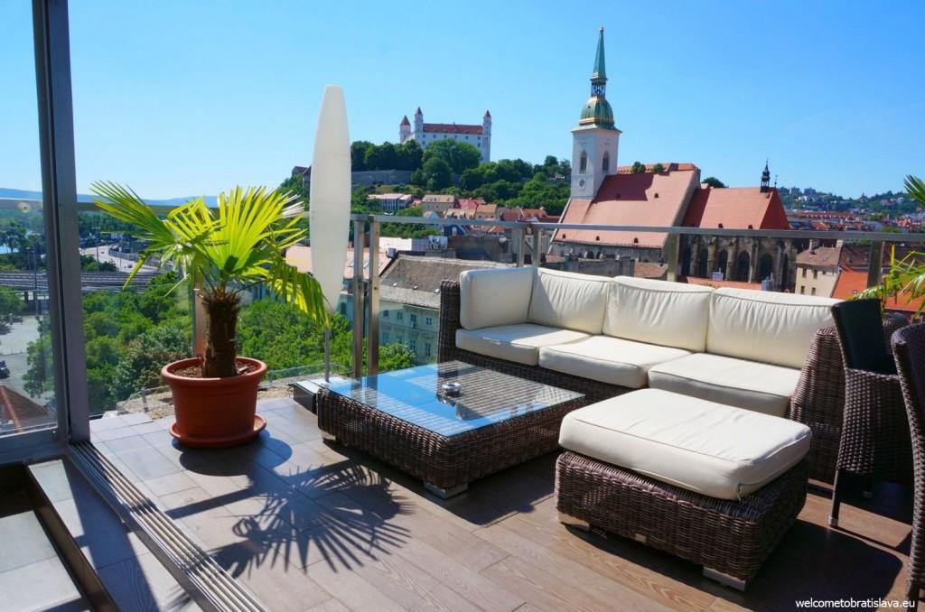 Bratislava's Sky bar