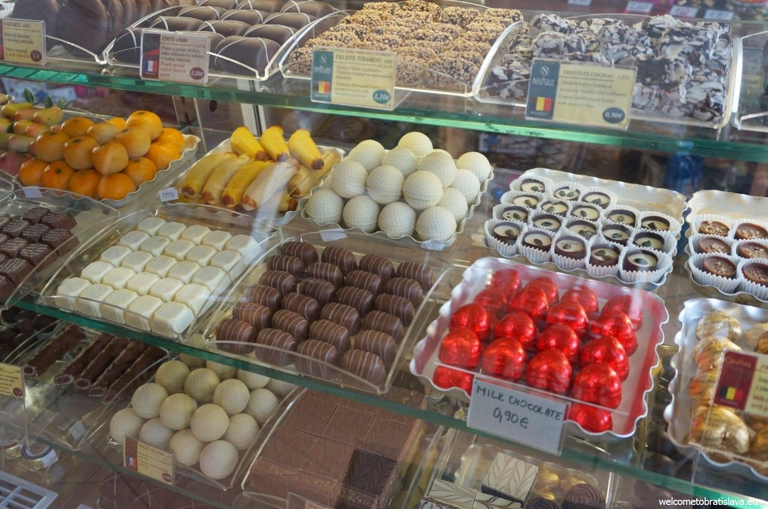 You can purchase some good chocolate truffles here