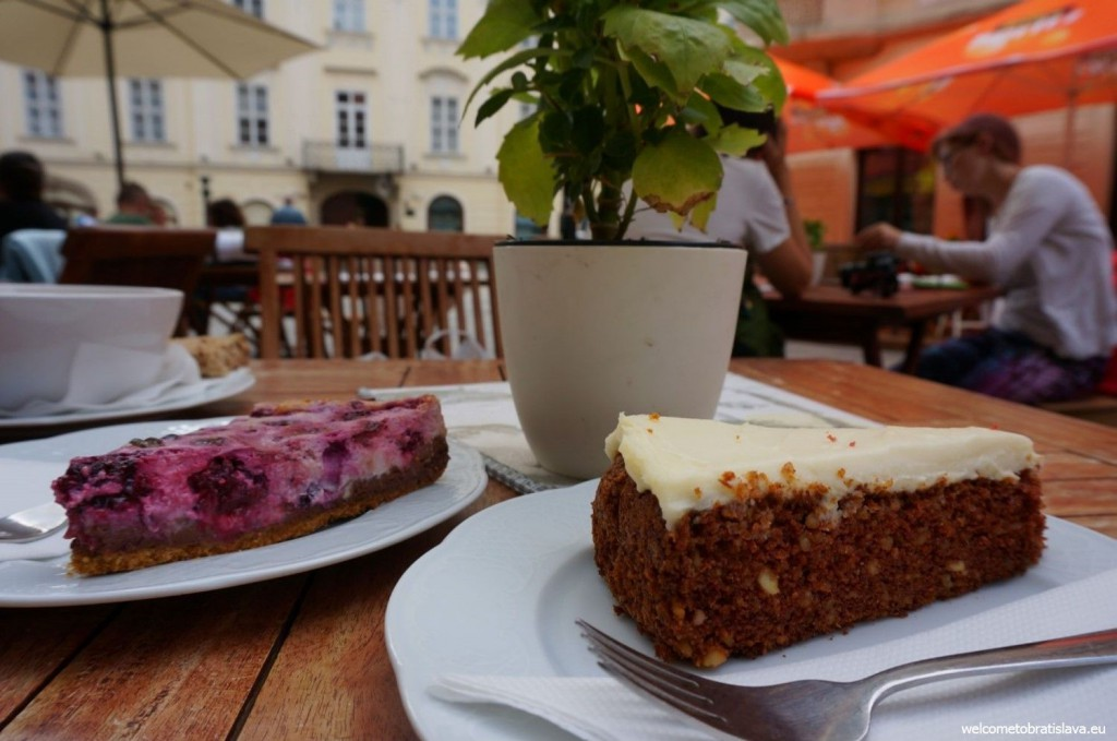 You will fall in love with Bratislava's cafes