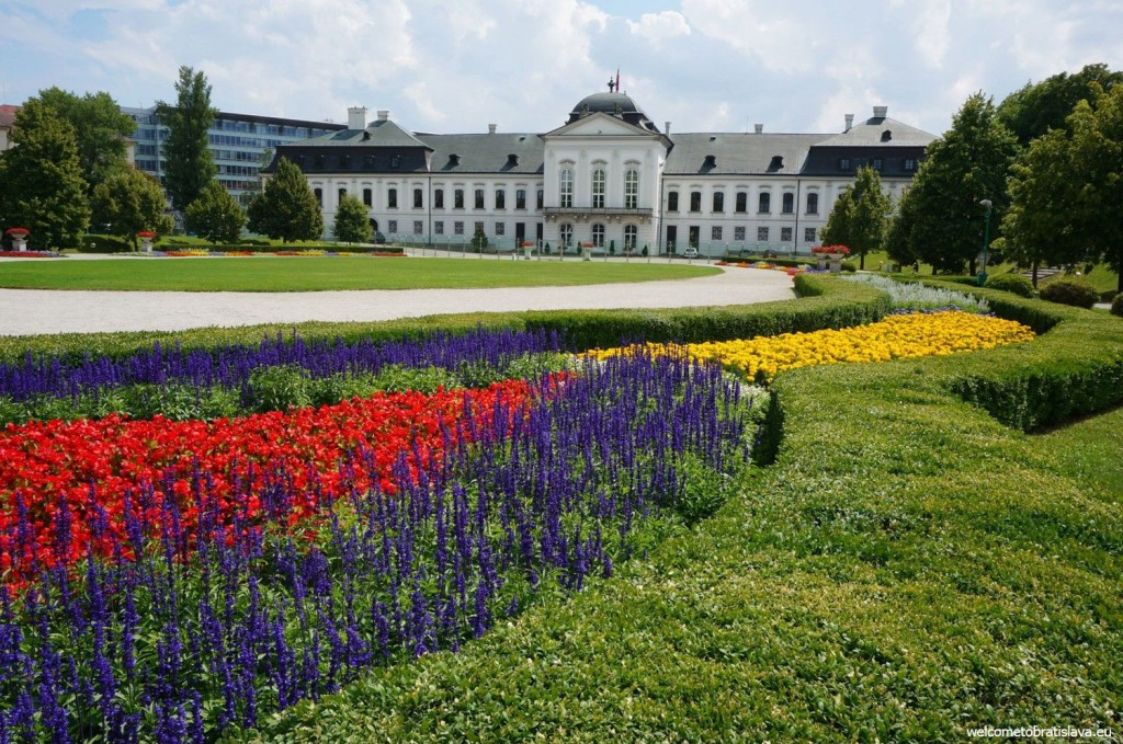 Bratislava: Presidential gardens