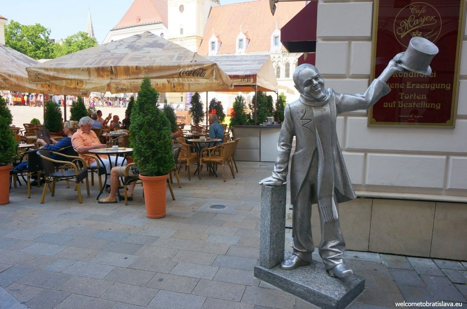 Kaffee Mayer is located at our Main square