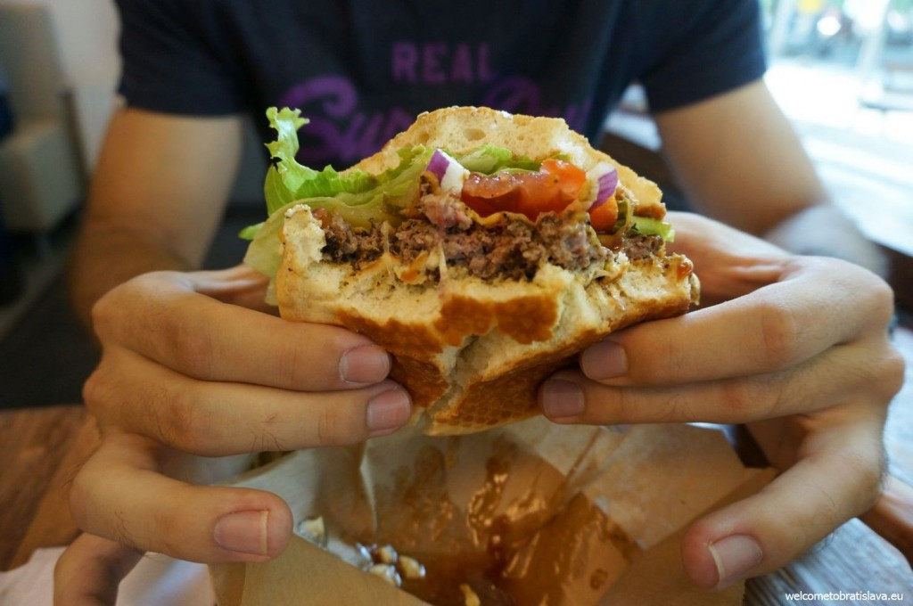 Regal Burger serves meat in a freshly baked bread and home made sauce