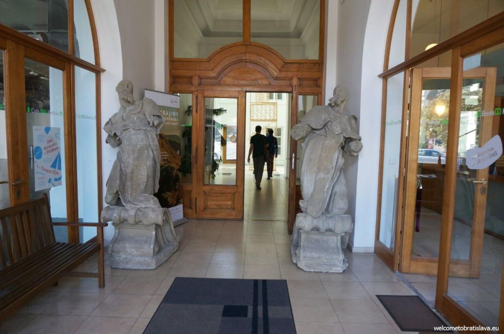 The main entrance hall