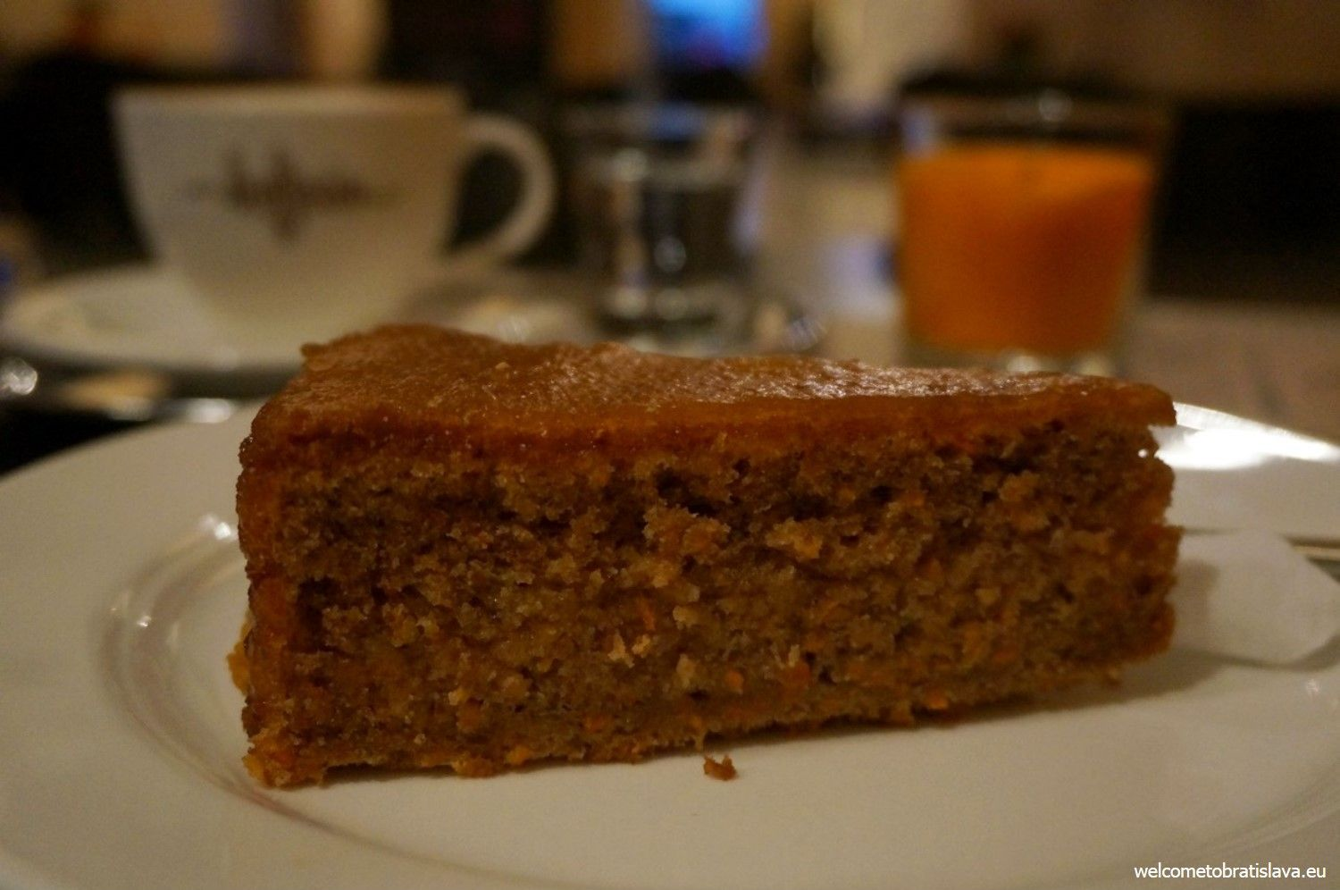 The fit carrot cake in Fúz