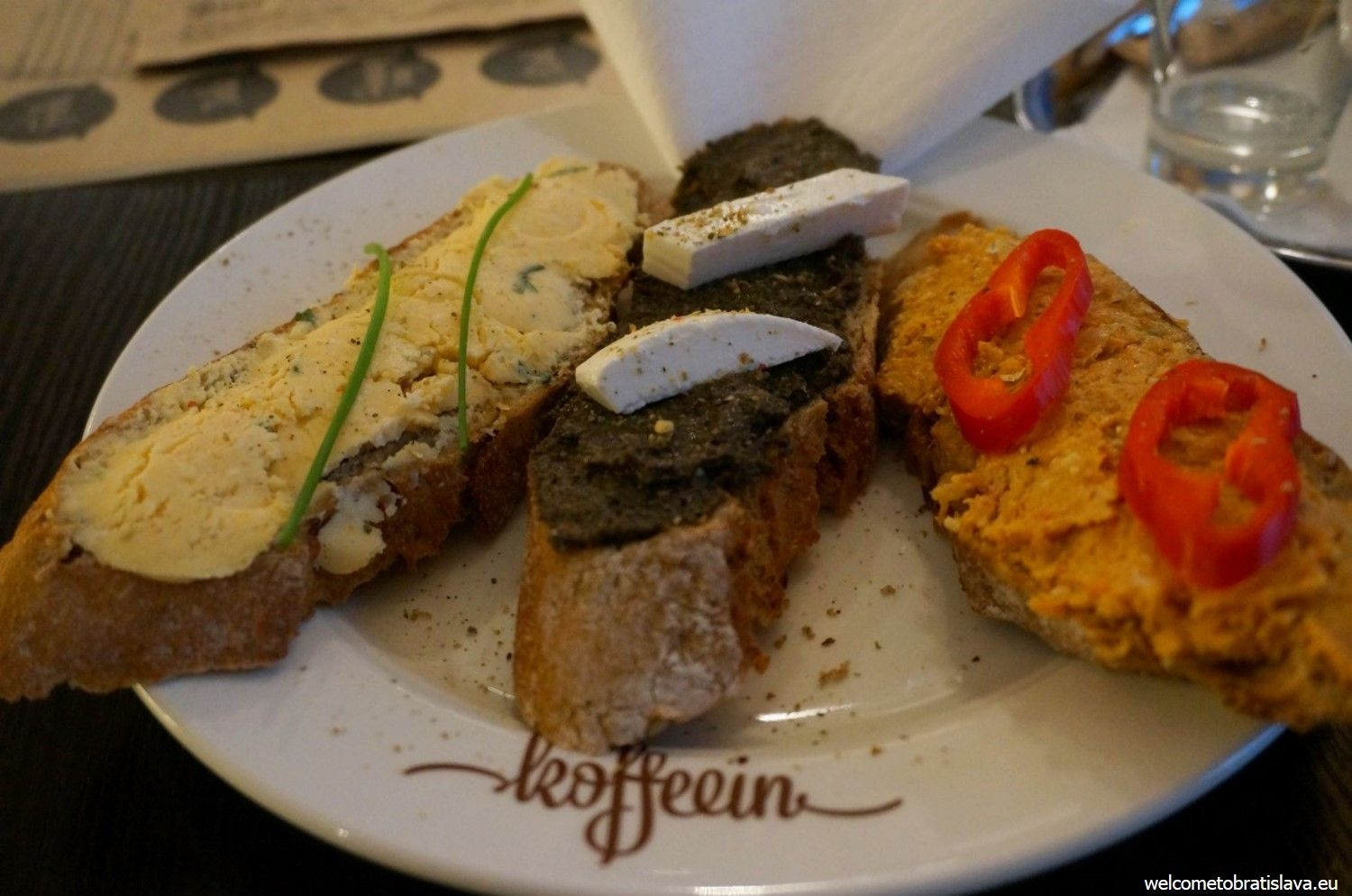 Fúz has some delicious home-made spreads on its menu